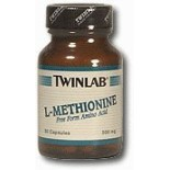 [Twin Lab] Amino Acid Supplements L Methionine 500 mg