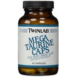 [Twin Lab] Amino Acid Supplements Mega Taurine 1000 mg