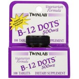 [Twin Lab] Vitamin B B12 Dots 500 mcg