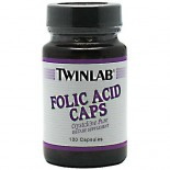 [Twin Lab] Vitamin B Folic Acid, 800 mg