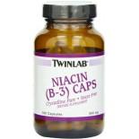 [Twin Lab] Vitamin B Niacin (B3), 500 mg