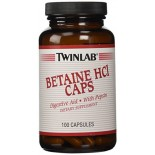 [Twin Lab] Fiber, Digestion & Regularity Betaine HCL