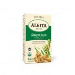 [Alvita Tea] Bag Tea Ginger Root  At least 95% Organic