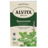 [Alvita Tea] Bag Tea Spearmint  At least 95% Organic