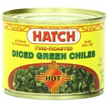 [Hatch]  Green Chilies, Hot, Diced