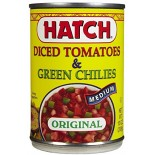[Hatch] Tomato Items Diced & Green Chiles