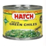 [Hatch] Peppers Green Chiles, Peeled/Chopped/Mild