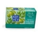 [Kiss My Face] Bar Soaps Olive Green Tea