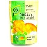 [Go Organic] Organic Hard Candies Iced Mint Mango  At least 95% Organic