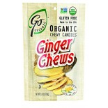 [Go Organic]  Ginger Chews  At least 95% Organic