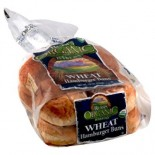 [Rudi`S Organic Bakery] Buns, Rolls & Muffins Wheat Hamburger Buns 8ct  At least 95% Organic