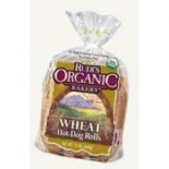 [Rudi`S Organic Bakery] Buns, Rolls & Muffins Wheat Hot Dog Rolls 6ct  At least 95% Organic