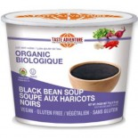 [Taste Adventure]  Black Bean Instant Soup Mix  At least 95% Organic