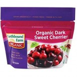 [Earthbound Farm] Frozen Organic Fruits Sweet Dark Cherries  At least 95% Organic