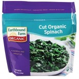 [Earthbound Farm] Frozen Organic Vegetables Cut Spinach  At least 95% Organic