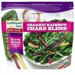 [Earthbound Farm] Frozen Organic Vegetables Rainbow Chard Blend  At least 95% Organic
