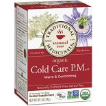 [Traditional Medicinals] Cold & Flu Cold Care P.M.  At least 95% Organic