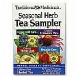 [Traditional Medicinals] Cold & Flu Cold Season Herb Tea Sampler  At least 70% Organic