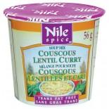 [Nile Spice] Couscous Cups, Low Fat Lentil Curry