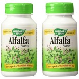 [Nature`S Way] Herbal Singles Alfalfa Leaves (COG)  At least 70% Organic