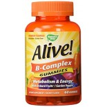 [Nature`S Way] Multi Vitamins & Minerals Alive! B-Complex Gummies
