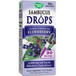 [Nature`S Way] Sambucus Drops, Ultra Strength, Elderberry