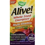 [Nature`S Way] Multi Vitamins & Minerals Alive, No Iron Added