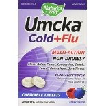 [Nature`S Way] Specialty Products Umcka Cold+Flu Chewable, Berry