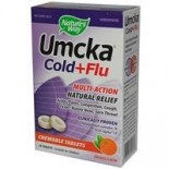 [Nature`S Way] Specialty Products Umcka Cold+Flu Chewable, Orange