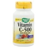 [Nature`S Way] Vitamin C 500 w/Rose Hips
