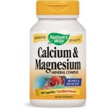 [Nature`S Way] Calcium Calcium & Magnesium 500 mg/250 mg
