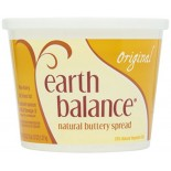 [Earth Balance] Vegetable Oil Spread Buttery Spread, Natural