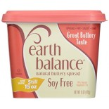 [Earth Balance] Vegetable Oil Spread Buttery Spread, Soy Free