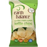 [Earth Balance] Kettle Chips Vegan Sour Cream & Onion
