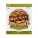 [Maria & Ricardo`S] Tortillas Sprouted Grain 7IN  At least 70% Organic