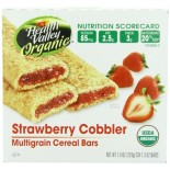 [Health Valley] Cereal Bars Strawberry Cobbler  At least 95% Organic
