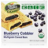 [Health Valley] Cereal Bars Blueberry Cobbler  At least 95% Organic