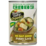 [Health Valley] Soup Potato Leek, Unsalted  At least 95% Organic