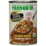 [Health Valley] Soup Mushroom Barley, Unsalted  At least 95% Organic