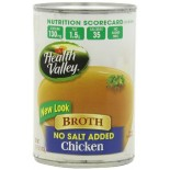 [Health Valley] Broth Chicken, Unsalted