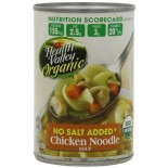 [Health Valley] Soup Chicken Noodle, No Salt Added  At least 95% Organic