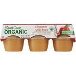 [Santa Cruz Organic] Organic Apple Sauce Cups Apple Cinnamon  At least 95% Organic