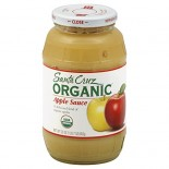 [Santa Cruz Organic] Organic Glass Apple Sauces, 23 oz. Apple  At least 95% Organic