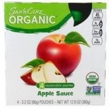 [Santa Cruz Organic] Organic Applesauce Pouches Original  At least 95% Organic