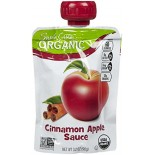 [Santa Cruz Organic] Organic Applesauce Pouches Cinnamon Apple  At least 95% Organic