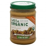 [Santa Cruz Organic] Organic Peanut Butters Crunchy, Light Roasted  At least 95% Organic