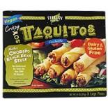 [Starlite Cuisine] Soy Taquitos, Vegan Chorizo & Spicy Black Bean