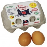 [The Country Hen] Eggs Omega-3 Large Brown  At least 95% Organic