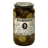 [Bubbies Of San Francisco] Pickle/Pepper/Relish Pickled Specialty Bread & Butter