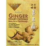 [Prince Of Peace] Chinese Herbal Products Ginger Honey Crystals, Instant